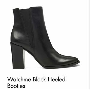 Watchme Block Heeled Booties